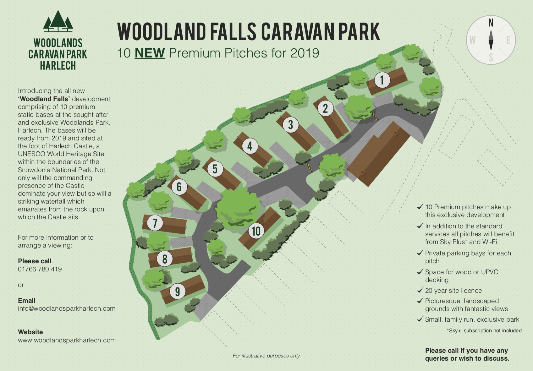 10 New Premium Bases at the Exclusive Woodland Falls Development